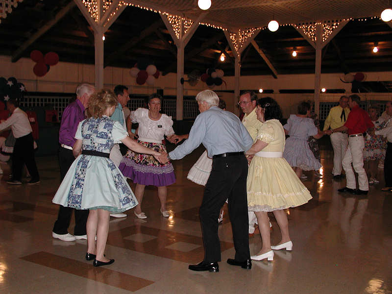 Dancing in Pavilion